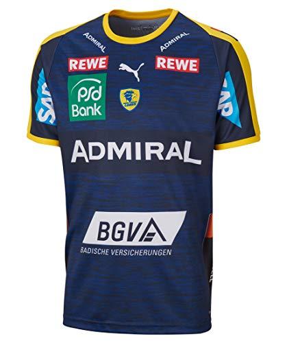 PUMA Kinder Handballtrikot RNL Away Shirt Jr Kurzarm gelb (31) 140