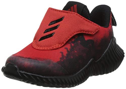 adidas Unisex Baby Fortarun Spider-Man Ac I Gymnastikschuhe, Rot Active Red/Core Black/FTWR White, 19 EU