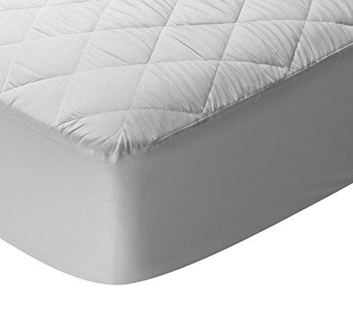 Pikolin Home - Protector de colchón acolchado para cuna, impermeable y transpirable,...