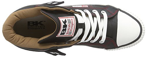 British Knights - Roco, Sneaker alte Uomo Multicolore (Mehrfarbig (Black-Cognac-Red 07))