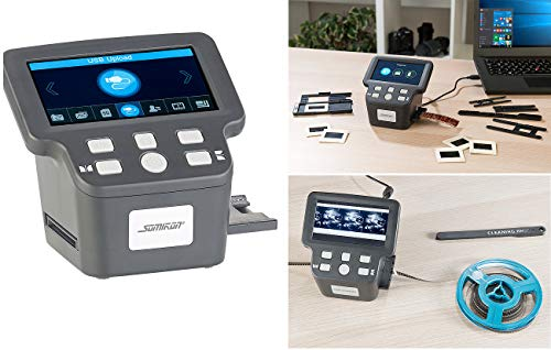 Somikon Super 8 digitalisieren: Stand-Alone-Dia-, Negativ- & Super-8-Scanner, 12,5-cm-Farbdisplay (5