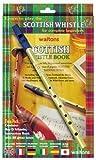 Waltons écossais Tin Whistle Twin Pack - Tuteur livre + D sifflet