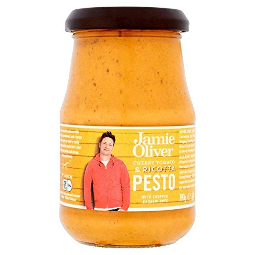 Jamie Oliver Cherry-Tomaten-Ricotta-Pesto 190G