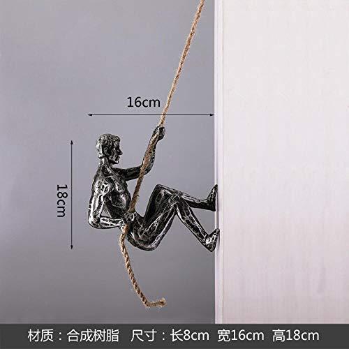 Fslt Nordic Wohnaccessoires Dekoration Modell Zimmer Display Bekleidungsgeschäft weichen Wandbehang Wanddekoration Retro Moderne Dekorationen-Kletterseil Links