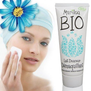 Marilou Bio Lait Démaquillant Tube de 75 ml