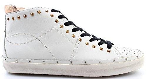 Rebecca Minkoff Chaussure Femme Sneakers 0HMDNA01 Michell Studs Nappa White High