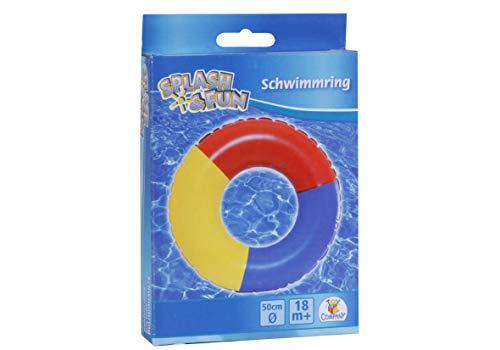 Splash & Fun Schwimmring Uni- Farben, Ø 50 cm