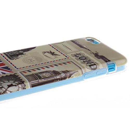 MOONCASE iPhone 5C Case Coque Housse Silicone Etui Case Soft Gel TPU Cover pour iPhone 5C -TX13 ST18