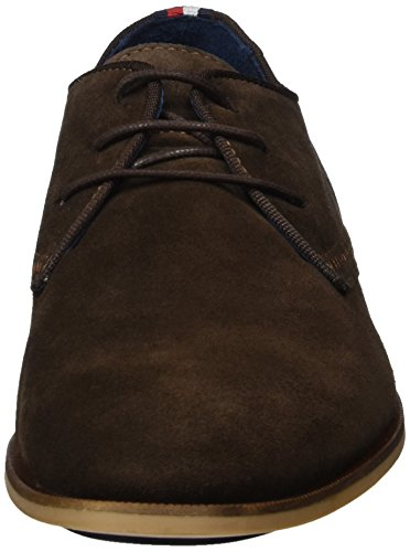 Tommy Hilfiger C2285ampbell 2b, Derby Homme Brun (COFFEEBEAN 018)