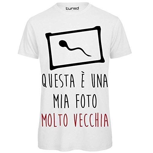t shirt uomo divertenti  CHEMAGLIETTE! T-Shirt Divertente Uomo Maglietta 100% Cotone con ...