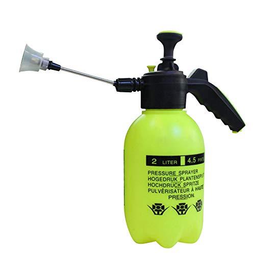 Facethoroughly Pulverizador de Agua 2 L/0.5 galones pulverizador automático para regar Maceta Bomba de Mano pulverizador para Plantas domésticas o Lavado de Coche