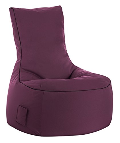 SITTING POINT only by MAGMA Sitzsack Scuba Swing aubergine