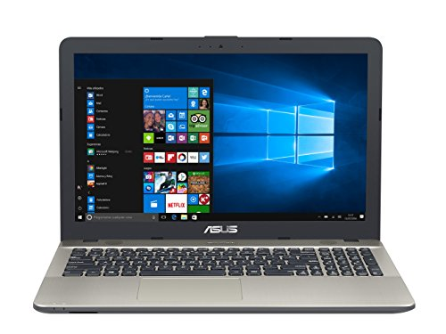 "ASUS K541UV-XX335T - Ordenador portátil de 15.6"" HD (Intel Core i7-6500U, 4 GB de RAM, HDD de 1 TB, NVIDIA GeForce GT920M 2 GB, Windows 10 Original), negro chocolate - Teclado QWERTY Español"
