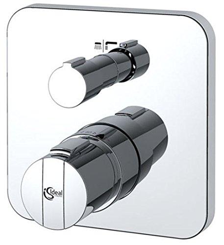 Preisvergleich Produktbild Ideal Standard A5621AA Dusch Thermostat Strada CeraTherm 200, chrom Unterputz mit integrierter Sicherungskombination