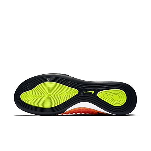 Nike Magistax Finale Ii Ic, Scarpe da Calcio Uomo Amarillo (Volt / Black-Total Orange-Pink Blast)