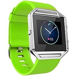 Für Fitbit Blaze Internet Weiche Silikon Watch band Uhrarmband