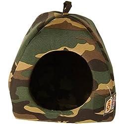 Iglú para gato diseño camuflaje