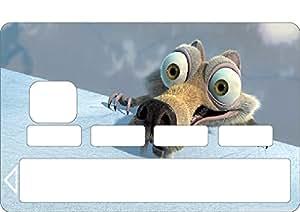 Stickers autocollants Skin Carte Bancaire CB ,Carte bleue réf 1138