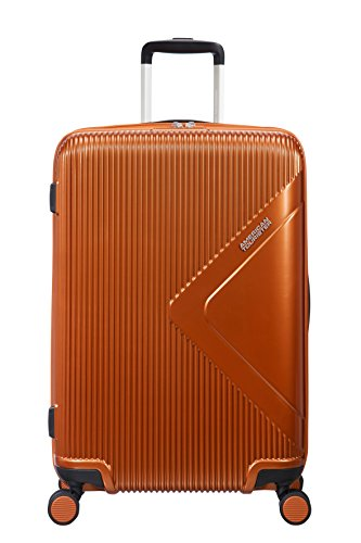 American Tourister Modern Dream Spinner 68.5cm Expandable, 70/81L - 3.7 KG Equipaje de mano, 68 cm, 70 liters, Naranja (Copper Orange)