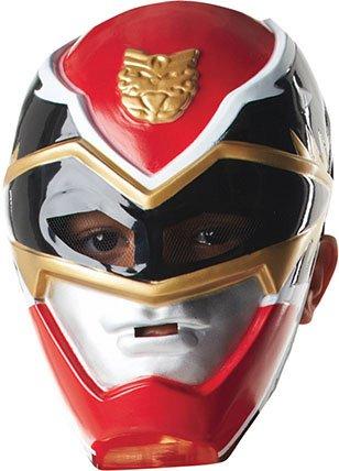 Kostüme Ranger Accessoires Power (Power Rangers Halbmaske für)
