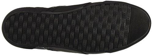 Bikkembergs Rubb-Er 750 Mid Shoe M Suede, Baskets Hautes Homme Noir - noir