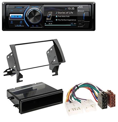 caraudio24 JVC KD-X560BT Bluetooth USB MP3 AUX Autoradio für Toyota Camry (2002-2006) (Aux Toyota Camry 2004)