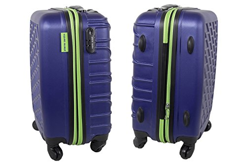 Maleta rígida PIERRE CARDIN violeta mini equipaje de mano ryanair S294
