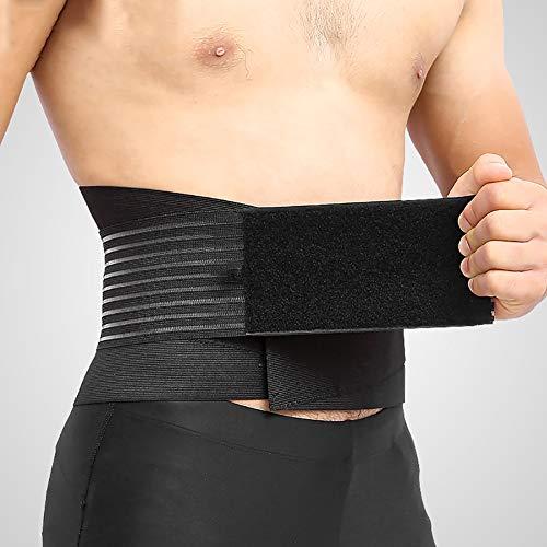 Cinturones lumbares Alivio rápido del Dolor Hernia de Disco, ciática, escoliosis y más Mujeres y Hombres,XL
