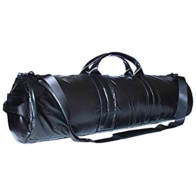 Fittastic Premium Yogatasche für Frauen und Männer - fair hergestellt - Sporttasche groß mit extra viel Platz für Yogamatte, Yoga Zubehör und Sportkleidung - Schwarz