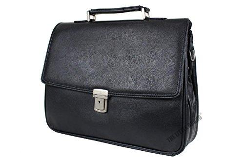 mens-faux-leather-156-laptop-bag-briefcase-business-work-shoulder-satchel-bag-key-lock-2498-black