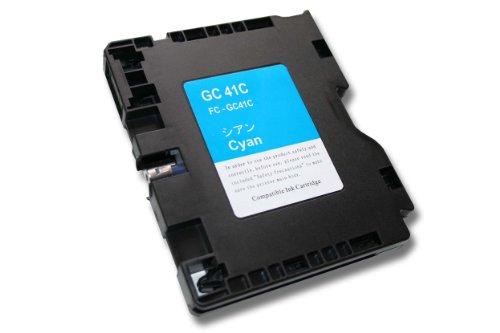 vhbw Cartouche d39;encre/d39;imprimante cyan pour Aficio SG 2010, SG 2010L, SG 2100, SG 2100N, SG 3100, SG 3100SF, SG 3110etc, remplace RICOH GC-41C
