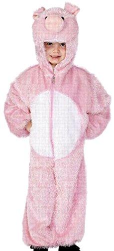Luxuspiraten - Jungen Schwein Kostüm, Karneval, Fasching, 116, Rosa