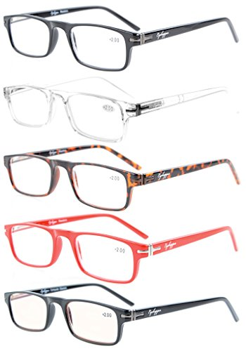 bc0269d1d9 Eyekepper 5-Pack metal de la calidad de bisagras de muelle Crystal Clear  Vision aspecto