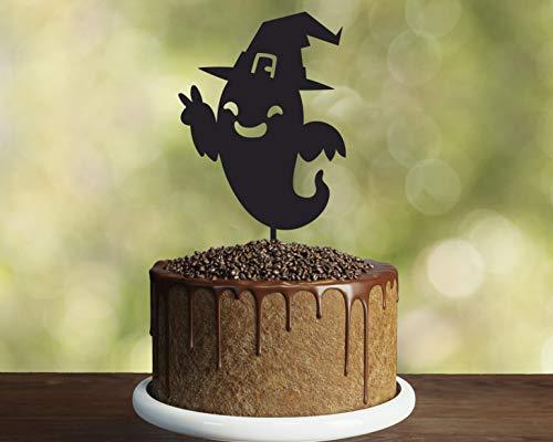 Einzigartiger Tortenaufsatz Halloween Zombie Halloween Zeichen Halloween Kuchen Topper Lustige Kuchen Topper Halloween Idee Halloween Party Idee Schild