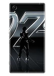 Spygen Premium Quality Designer Printed 3D Lightweight Slim Matte Finish Hard Case Back Cover For Sony Xperia Z1