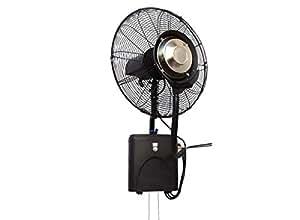 Ventilatore nebulizzatore professionale da parete o fresh for Ventilatore nebulizzatore per interni