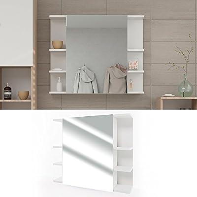 VICCO Spiegelschrank FYNN 80 cm - Badezimmer-Spiegel Hängespiegel Badspiegel Badezimmerspiegel