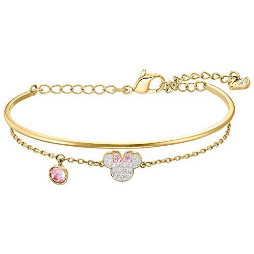 Swarovski Damen-Armreifen Silber_vergoldet 5515627