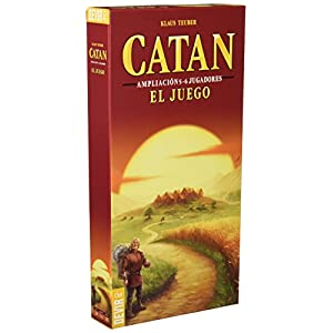 Devir – Catan, juego de mesa – Ampliación para 5 y 6 Jugadores (BGCATAN56)