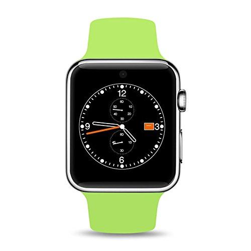 Lemumu Bluetooth ZAOYIMALL DM09 Smart guarda il supporto della scheda SIM schermo HD MTK2502C Magic manopola Smartwatch per Iphone...