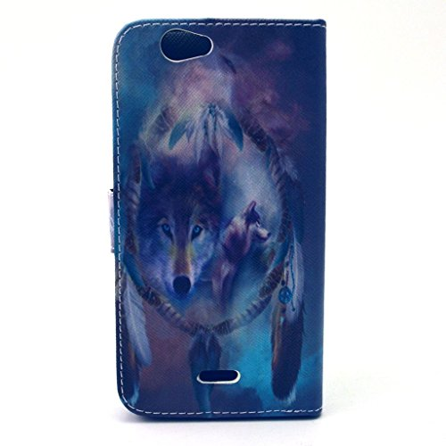BONROY® Book Style PU Cuir Portefeuille Etui pour iPhone 5 5S 5SE PU Cuir Flip Magnétique Portefeuille Etui Housse de Protection Coque Étui Case Cover Portefeuille Fentes pour Cartes Cover Ultra Slim  COLOR 2