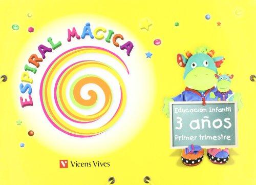 Espiral Mágica. Primer Trimestre. 3 Años (Espiral Magica Material Alumno) - 9788431696016