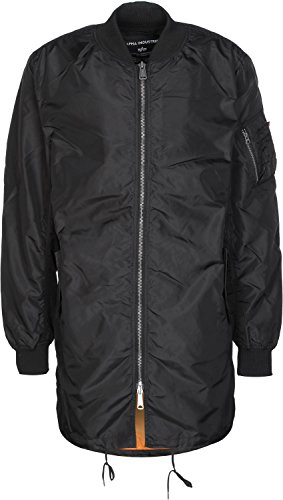 alpha industries MA-1 TT Coat Black