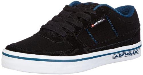 airwalk-time-pu-257250-43-jungen-sneaker-schwarz-noir-petrol-shiny-black-eu-37