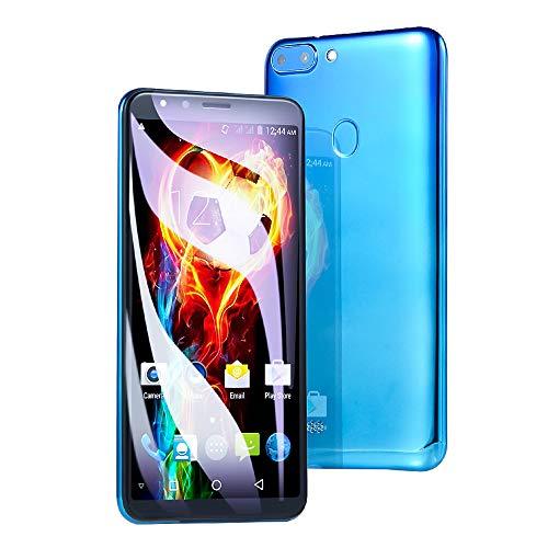 Springdoit Smartphone Handy 5.5 Zoll Dual Core 521 + 4G 3G Smartphone Unterstützung Gesicht entsperren für Android4.4 Kommunikation - # 2 Verlaufsblau
