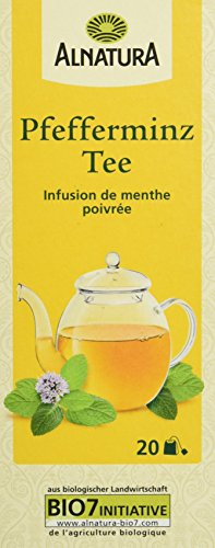 Alnatura Bio Pfefferminz Tee, 20 Beutel, 30 g