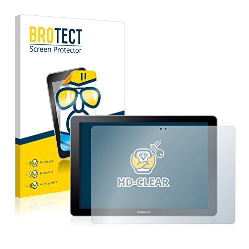 BROTECT Schutzfolie kompatibel mit Samsung Galaxy Book 10.6 SM-W620 [2er Pack] - kristall-klare Bildschirmschutz-Folie, Anti-Fingerprint