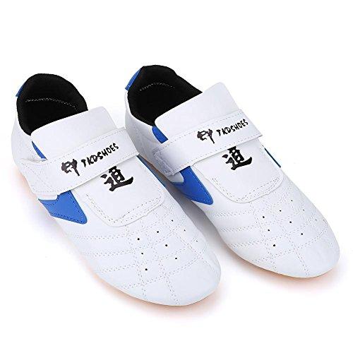VGEBY Taekwondo Zapatos Unisex Niños Adulto Ligero Artes Marciales Zapatillas para Taekwondo, Boxeo...