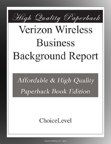 verizon-wireless-business-background-report
