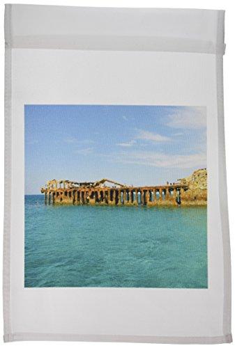 3drose FL _ _ 1Bead Zement Schiffswrack Barnett Harbor Bahamas CA05mpr0016Maresa Pryor Garten Flagge, 12von 18 (Bahamas-flagge T-shirt)